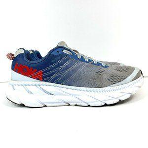 Hoka One One Clifton 6 Women's Size 9 Blue Gray Running Shoes 1102877 PAMB